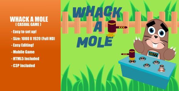 Whack A Mole | Construct 3 | C3P