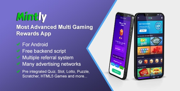 Mintly - Advanced Multi Gaming Rewards App - CodeCanyon Item for Sale