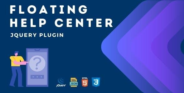Floating Help Center | Advanced jQuery Plugin