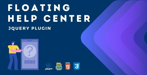 Floating Help Center | Advanced jQuery Plugin - CodeCanyon Item for Sale
