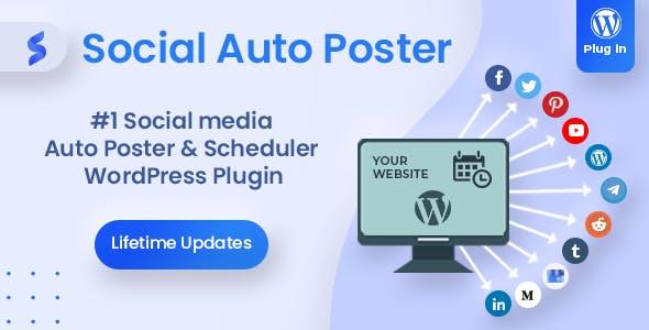 Social Auto Poster - WordPress Scheduler & Marketing Plugin