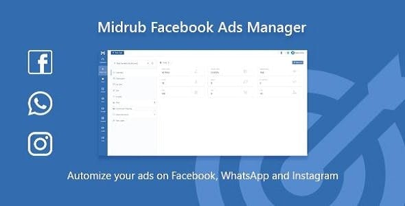Facebook Ads Manager - Script for Instagram, Facebook and Whatsapp Ads Automatizations