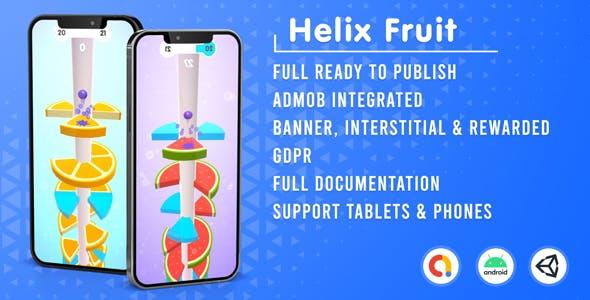 Helix Fruit (Admob + GDPR + Unity)