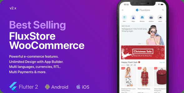 Fluxstore WooCommerce v2.3.0 – Flutter E-commerce Full App