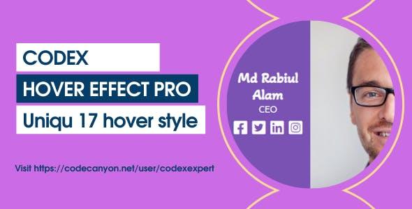 Codex Hover Effect Pro