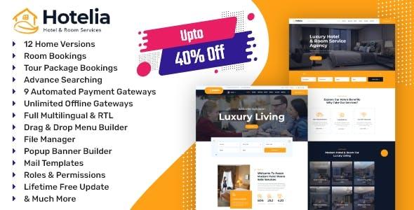 Hotelia - Hotel Booking / Resort Booking Management Website