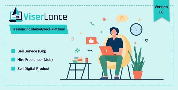 ViserLance - Freelancing Marketplace Platform - CodeCanyon Item for Sale