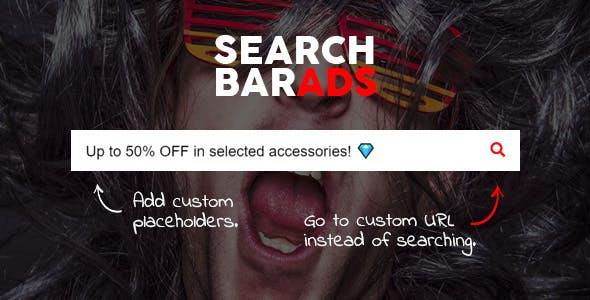 Search Bar Ads - WooCommerce Plugin