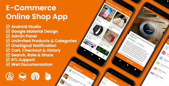 E-Commerce / Online Shop App - CodeCanyon Item for Sale