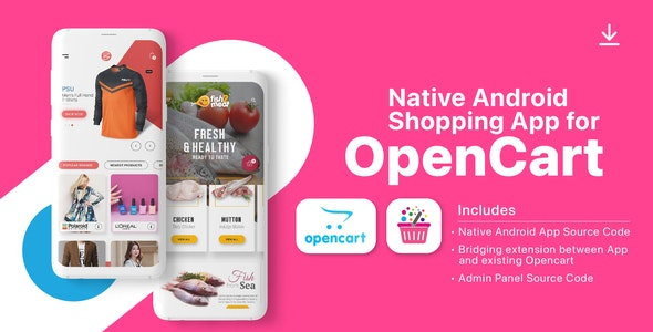 i.am.retailer - Native Android Shopping App for Opencart - CodeCanyon Item for Sale
