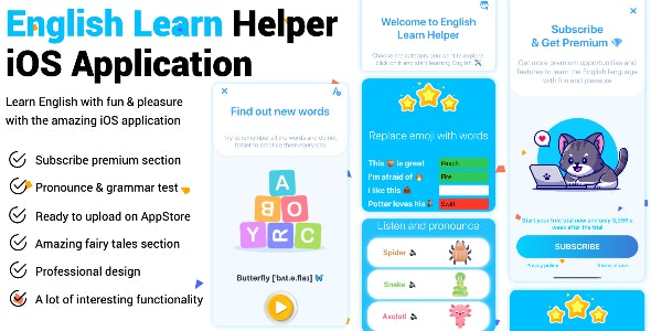 English Learn Helper iOS Application - CodeCanyon Item for Sale