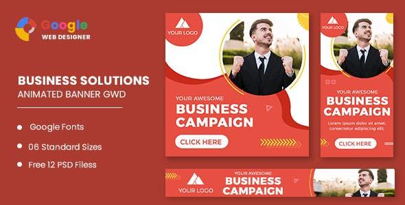 Business Campaign Animated Banner Google Web Designer