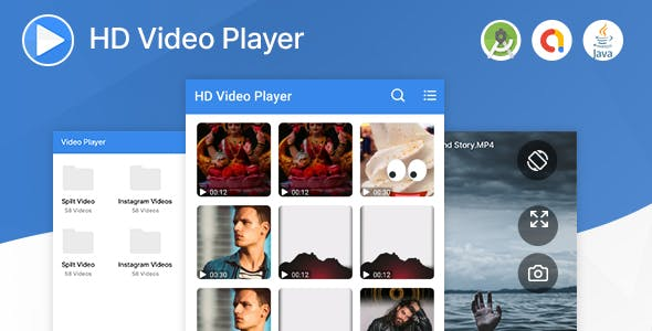 HD Video Player with Admob Ads