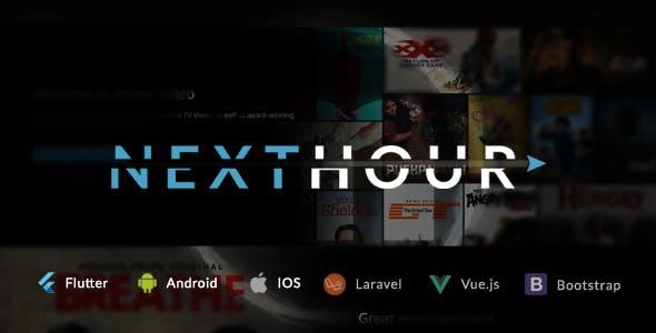 Next Hour - Movie Tv Show & Video Subscription Portal Cms Web and Mobile App