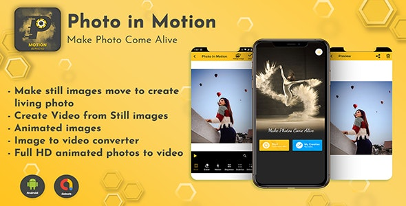 Android App Photo Editor - Pro Photo In Motion Editor - CodeCanyon Item for Sale