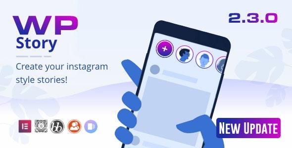 WP Story Premium v2.3.1 – Instagram Style Stories For WordPress