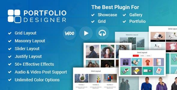 Portfolio Designer - WordPress Portfolio Plugin