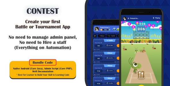 Cricket Contest | Create Your Own Cricket Tournament App - CodeCanyon Item for Sale