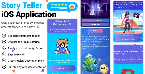 Story Teller iOS Application - CodeCanyon Item for Sale