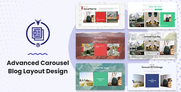 Advanced Carousel Blog Layout Design - CodeCanyon Item for Sale