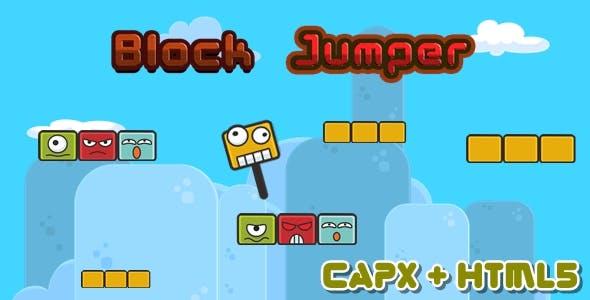 Block Jumper - Construct 2 Html5 Games