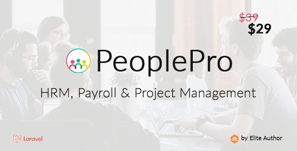 PeoplePro - HRM, Payroll & Project Management - CodeCanyon Item for Sale