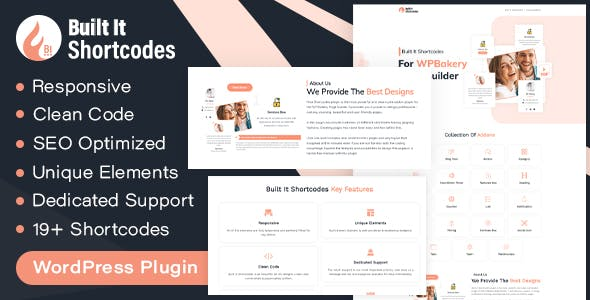Built It - WP Bakery Page Builder Extensions Addon (formerly for Visual Composer)