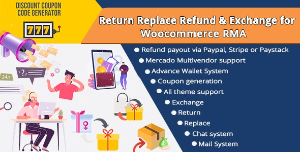Return Replace Refund & Exchange for WooCommerce RMA - CodeCanyon Item for Sale