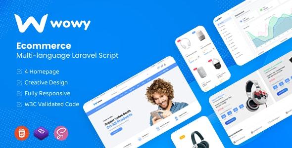 Wowy - Multi-language Laravel eCommerce Script - CodeCanyon Item for Sale