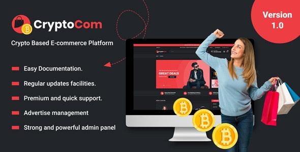 CryptoCom - Crypto Based Ecommerce Shopping Platform - CodeCanyon Item for Sale