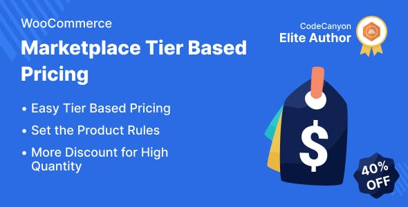 Marketplace Tier Based Pricing for WooCommerce