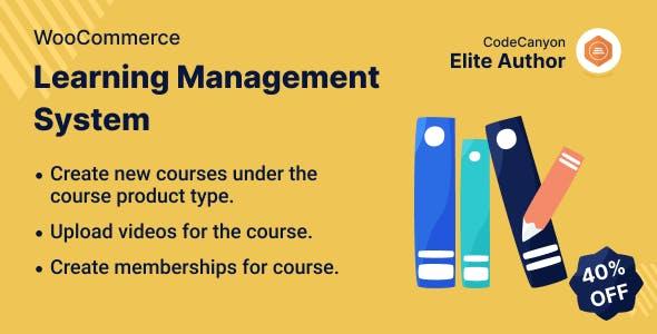 WooCommerce Learning Management System