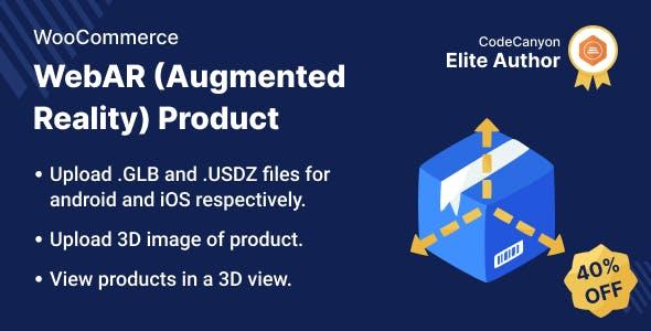 WooCommerce WebAR (Augmented Reality) Product