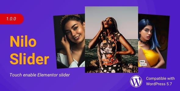 Nilo Slider | Creative Slider for Elementor