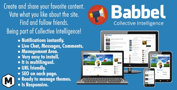 Babbel - Collective Intelligence - CodeCanyon Item for Sale