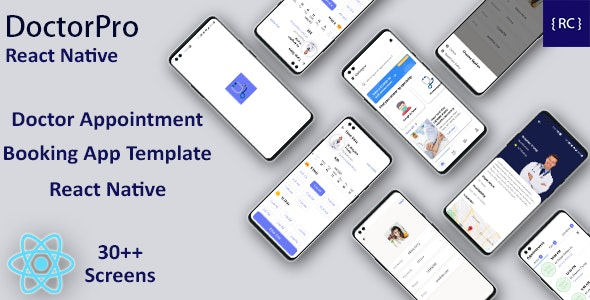 Doctor Appointment Booking Android App + Doctor Appointment iOS App Template React Native |DoctorPro - CodeCanyon Item for Sale