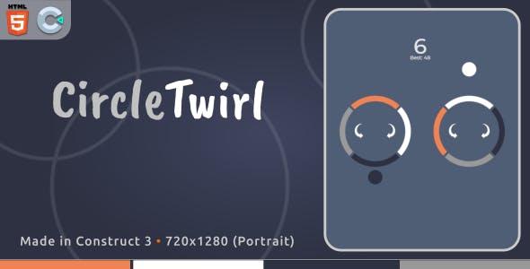 CircleTwirl - HTML5 Casual Game