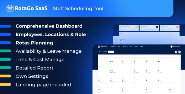 RotaGo SaaS v5.1.0 – Staff Scheduling Tool