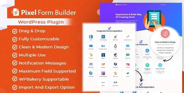 Pixel Contact Form Builder - Plugin & Autoresponder - CodeCanyon Item for Sale