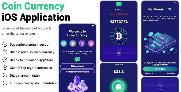 Coin Currency iOS Application - CodeCanyon Item for Sale