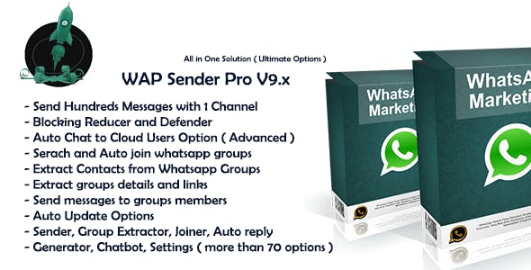Wap Sender Pro V9.x