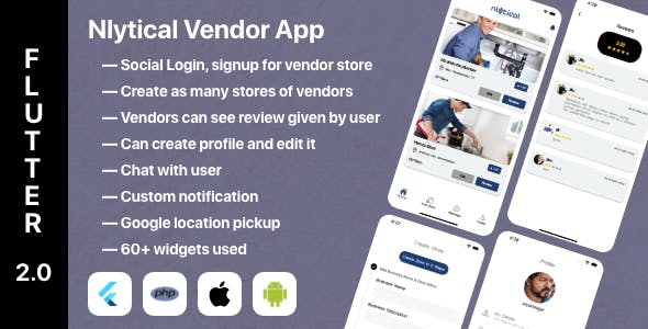 Vendor Business Listing Flutter App
