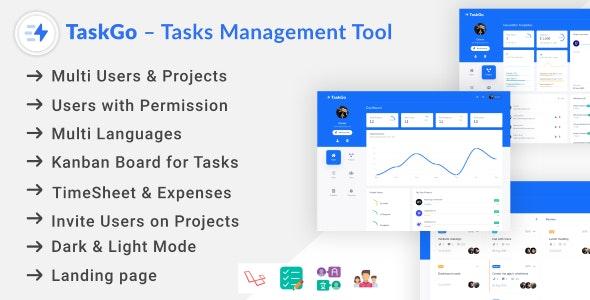 TaskGo – Tasks Management Tool - CodeCanyon Item for Sale