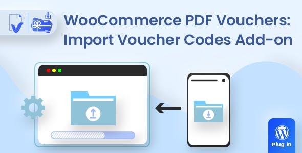 WooCommerce PDF Vouchers : Import Voucher Codes add-on