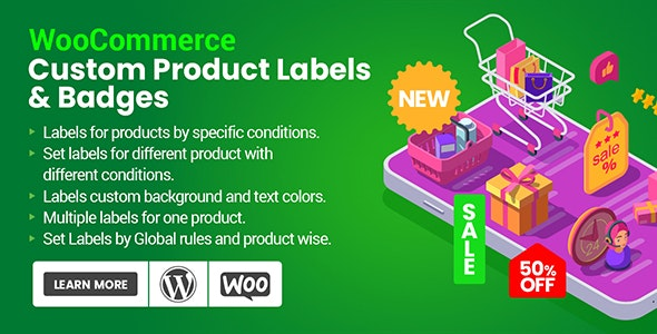 Custom Product Labels & Badges for WooCommerce - CodeCanyon Item for Sale