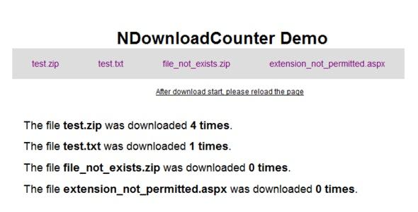 NDownloadCounter - CodeCanyon Item for Sale