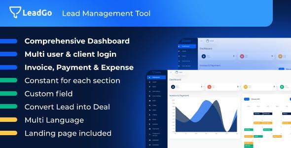 LeadGo - Lead Management Tool