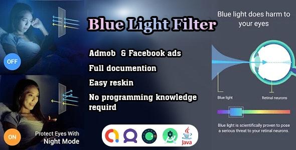 Advanced Blue light filter - eye care light app source code - CodeCanyon Item for Sale