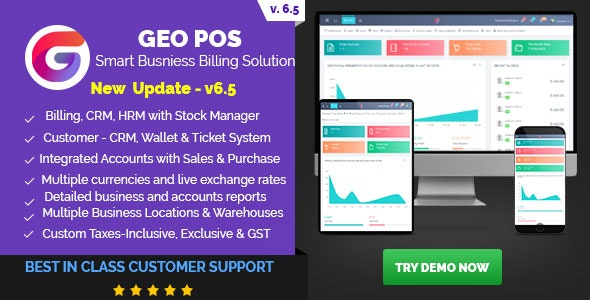 Geo POS - Point of Sale, Billing and Stock Manager Application - CodeCanyon Item for Sale