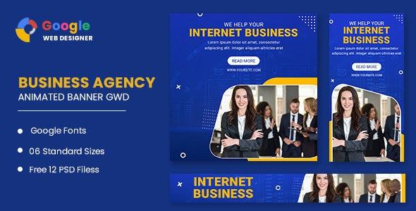 Business Animated Banner Google Web Designer - CodeCanyon Item for Sale
